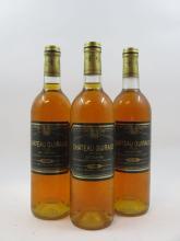 3 bouteilles CHÂTEAU GUIRAUD 1996 1er cru Sauternes (dont 2 base goulot) (Cave 17)