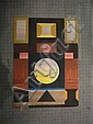 Abidin DINO (1913 - 1993) COMPOSITION ABSTRAITE Gouache et pastel sur papier, Dino Abidine, Click for value