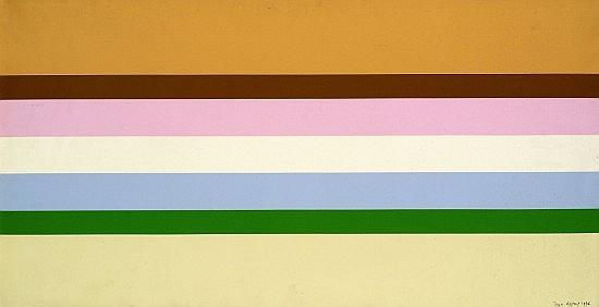 Jean LEGROS (1917-1981) COMPOSITION, 1976 Huile sur toile plastifiée