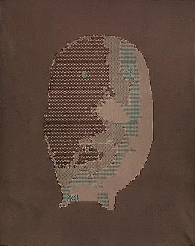 ¤Peter KOGLER (né en 1959) SANS TITRE, 1986 Acrylique sur toile