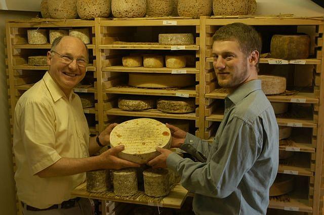 BERNARD ANTONY Comté grande garde millésimé 1 kg + Gruyère Suisse 1 kg
