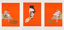 Francis BACON (1909-1992) TRIPTYCH, 1983