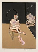 Francis BACON (1909-1992) SEATED FIGURE, 1983