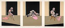 Francis BACON (1909-1992) TRIPTYCH AUGUST 1972 - 1972, 1989