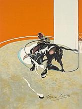 Francis BACON (1909-1992) MIROIR DE LA TAUROMACHIE, 1990 - Planche II