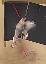 Francis BACON (1909-1992) STUDY FOR A HUMAN BODY, 1981