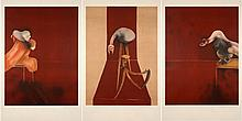 Francis BACON (1909-1992) SECOND VERSION OF THE TRIPTYCH 1944 - 1988, 1990