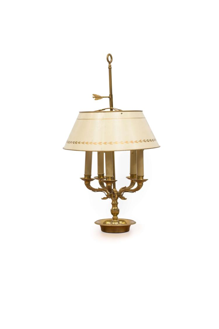 LAMPE BOUILLOTTE DE STYLE LOUIS XVI