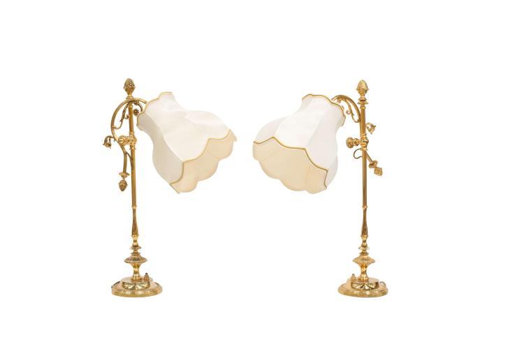 DEUX LAMPES DE CHEVET