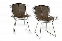 Harry BERTOIA (1915 - 1978) Paire de chaises