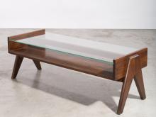 Pierre JEANNERET (1896 - 1967) Table basse dite