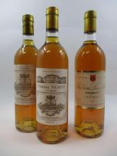 12 bouteilles 1 bt : CHÂTEAU FILHOT 1985 2è cru Sauternes (étiquette abimée)