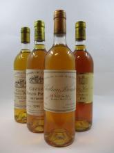 12 bouteilles 3 bts : CHÂTEAU RABAUD PROMIS 1986 1er cru Sauternes (1 étiquette léger tachée, 3 bouchons enfoncés)