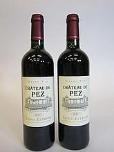 12 bouteilles CHÂTEAU DE PEZ 2007 CB Saint Estèphe