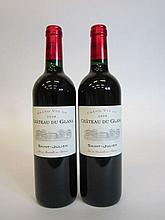 12 bouteilles CHÂTEAU DU GLANA 2008 CB Saint Julien