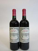 11 bouteilles DULUC DE BRANAIRE DUCRU 2006 Saint Julien