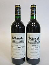 7 bouteilles CHÂTEAU LAFON ROCHET 1989 4è GC Saint Estèphe (base goulot)
