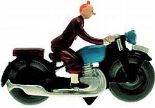 Le Sceptre d'Ottokar : Tintin à moto