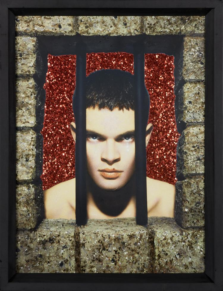 pierre et gilles n s en 1950 et 1953 le prisonnier laurent. Black Bedroom Furniture Sets. Home Design Ideas