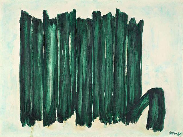 Robert HELMAN (1910-1990) SANS TITRE Huile sur toile