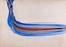 Martial RAYSSE (né en 1936) COMPOSITION - 1967 Technique mixte sur papier marouflé sur panneau d'isorel