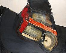 Jan MEIJER (1927-1995) SANS TITRE - 1970 Huile sur toile