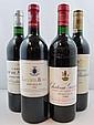 5 bouteilles 1 bt : CHÂTEAU GISCOURS 1988 3è GC Margaux (étiquette tachée)