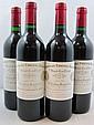 4 bouteilles 2 bts : CHÂTEAU CHEVAL BLANC 1989 1er GCC (A) Saint Emilion