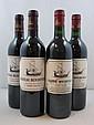 5 bouteilles 3 bts : CHÂTEAU BEYCHEVELLE 1989 4è GC Saint Julien