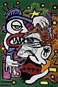 Georges MOQUAY (Né en 1970) LA COUPE A JOHNNY, 2009 Acrylique sur toile, Georges Moquay, Click for value
