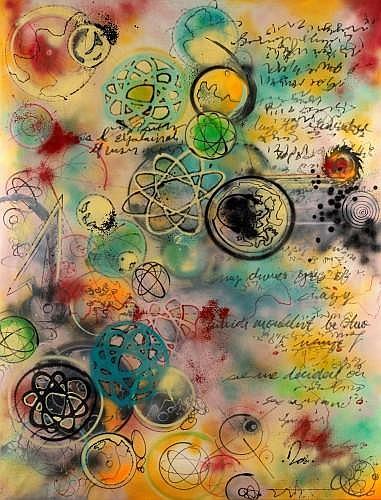 FUTURA 2000 (né en 1955) BABY FORMULA, 1984 Peinture aérosol sur toile