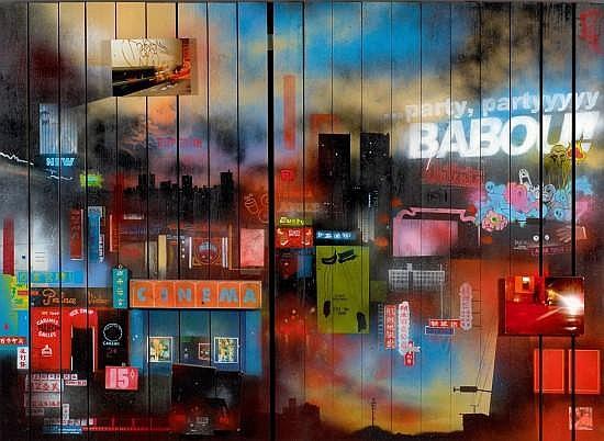 Babou works on sale at auction biography invaluable - Technique peinture bois ...