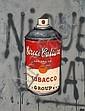DRAN (né en 1979) STREET CULTURE Acrylique et peinture aérosol sur toile,  Dran, Click for value