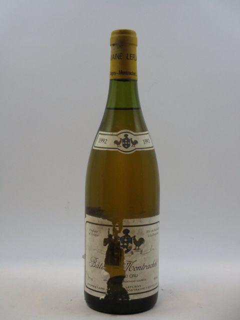 1 bouteille BATARD MONTRACHET 1992 Grand Cru