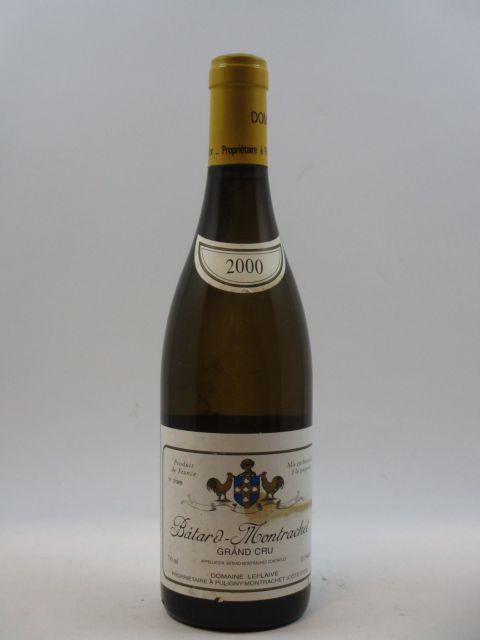1 bouteille BATARD MONTRACHET 2000 Grand Cru