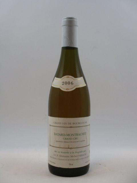 1 bouteille BATARD MONTRACHET 2006 Grand Cru