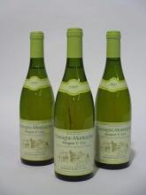6 bouteilles CHASSAGNE MONTRACHET 1997 1er cru Morgeot