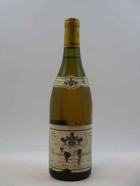 1 bouteille CHEVALIER MONTRACHET 1992 Grand Cru