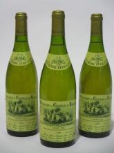 3 bouteilles CHEVALIER MONTRACHET 1992 Grand Cru