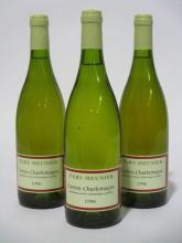 6 bouteilles CORTON CHARLEMAGNE 1996 Grand Cru