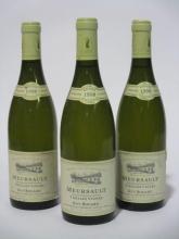6 bouteilles MEURSAULT 1998 Vieilles Vignes
