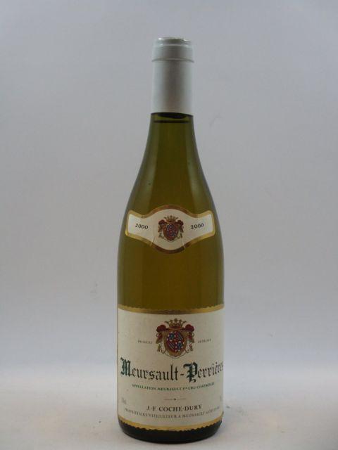 1 bouteille MEURSAULT 2000 1er cru Perrières
