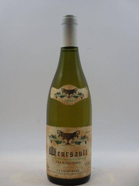 1 bouteille MEURSAULT 2000 Les Rougeots