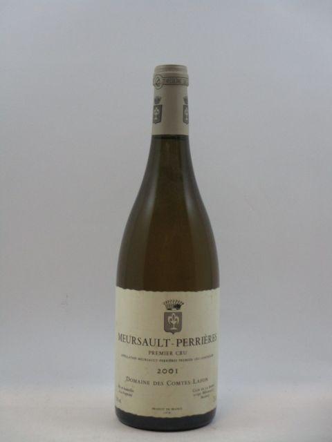 1 bouteille MEURSAULT 2001 1er cru Perrières