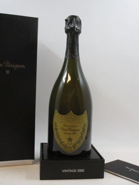 1 bouteille CHAMPAGNE DOM PERIGNON 2000 Etui d'origine