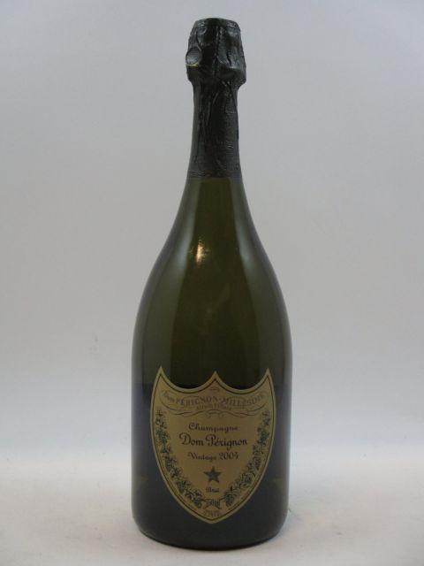 1 bouteille CHAMPAGNE DOM PERIGNON 2004