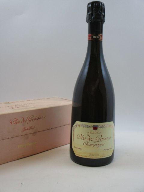 1 bouteille CHAMPAGNE PHILIPPONNAT Brut Rosé 2000 Rosé Etui abimé