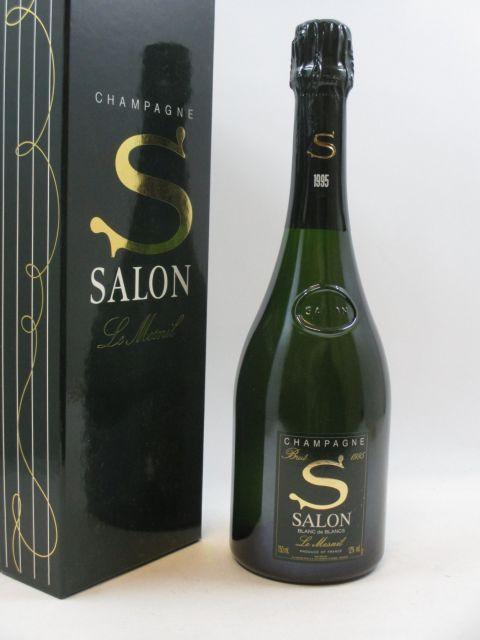 1 bouteille CHAMPAGNE SALON 1995 S de Salon
