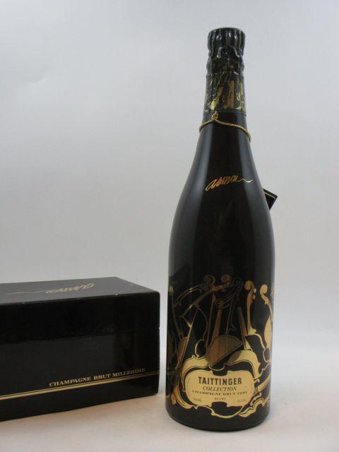1 bouteille CHAMPAGNE TAITINGER 1981 Collection Armand Etui d'origine (abimé)