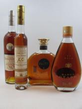 4 bouteilles 1 bt : COGNAC OTARD Gold XO (70 cl, 40°) Etui d'origine
